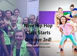 New Hip Hop Class Starts October 3rd!
