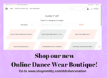 FB Event Cover Shop Our New Online Dancewear Boutique Purple